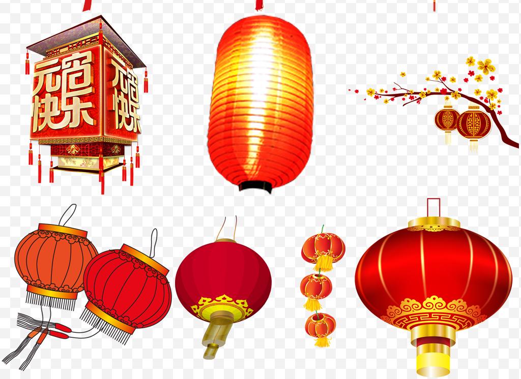 中国风水墨风灯笼复古矢量图素材png素材图片素材参数 编号
