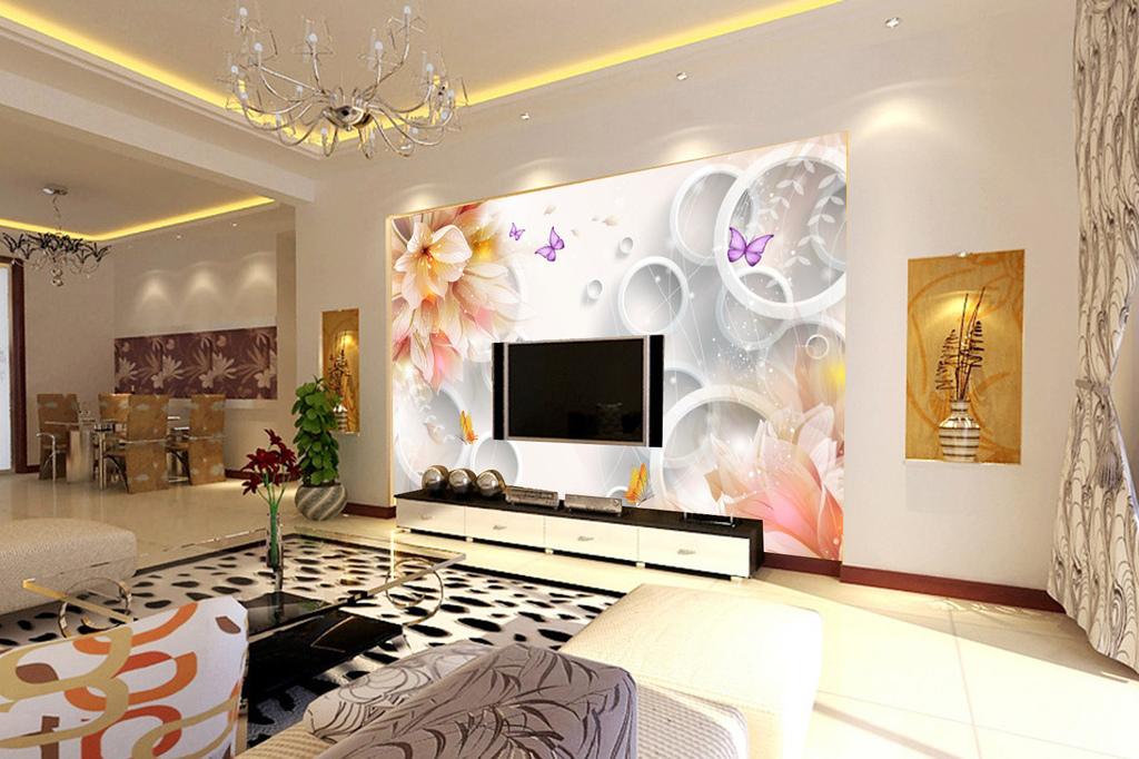 现代简约手绘油画花卉欧式背景墙装饰画图片设计素材 高清psd模板下载 139.56MB 其它大全图片