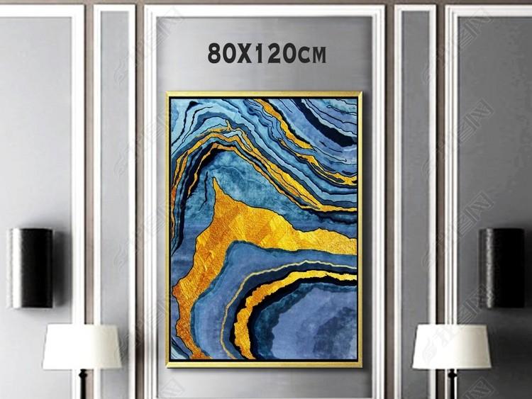 梦幻抽象装饰画抽选哪个大理石纹理意境装饰
