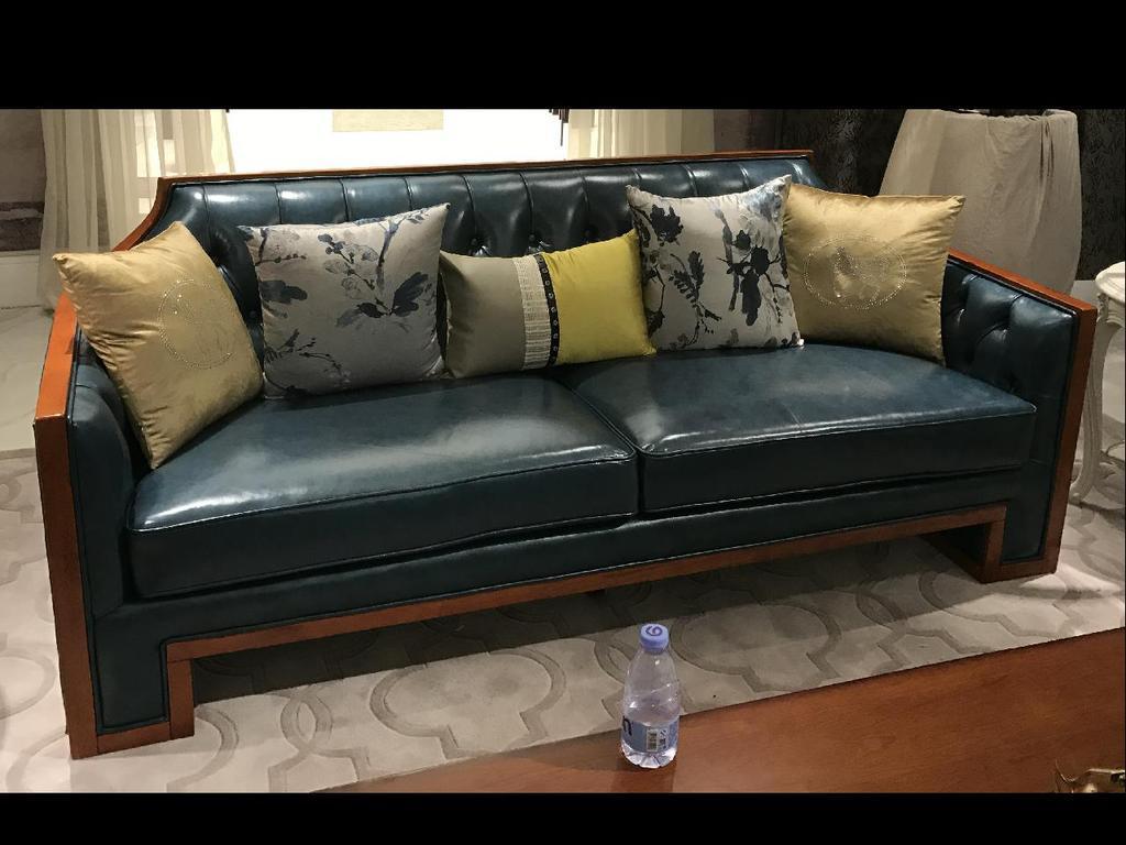 美式沙发cad图纸图片
