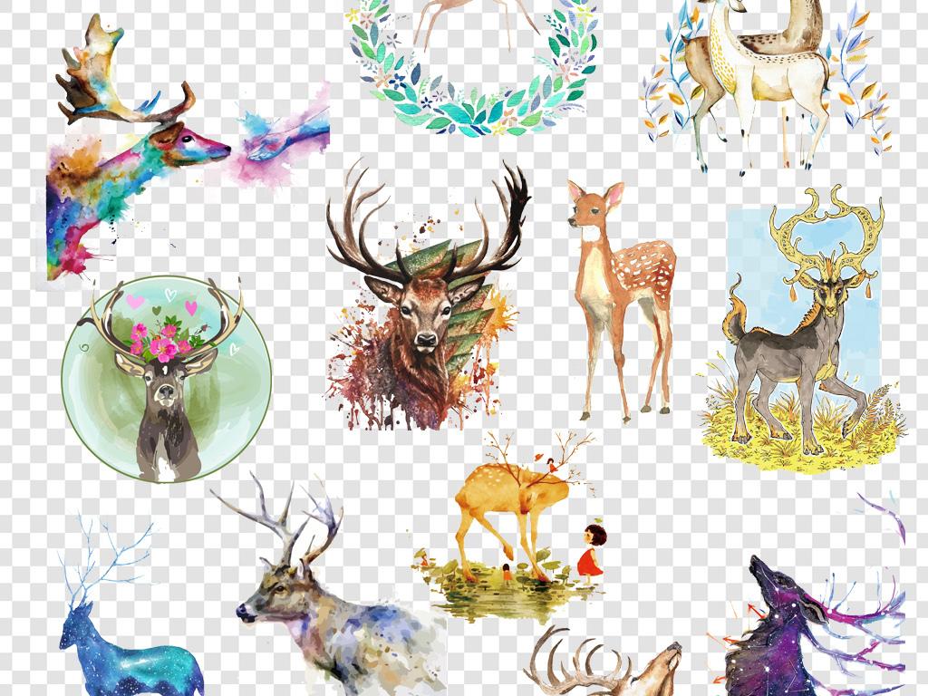 我图网提供精品流行卡通手绘水彩鹿麋鹿png海报素材下载,作品模板源文件可以编辑替换,设计作品简介: 卡通手绘水彩鹿麋鹿png海报素材 位图, RGB格式高清大图,使用软件为 Photoshop CS5(.png) 星空剪影鹿 手绘水彩鹿
