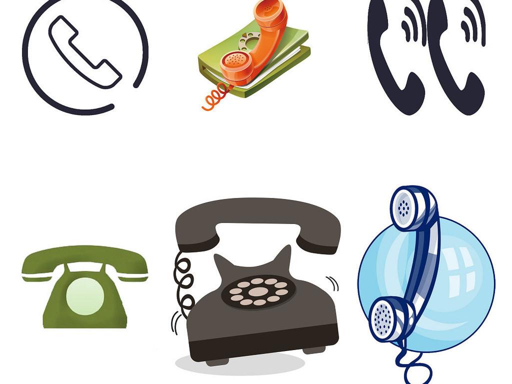联系电话客服电话咨询热线素材