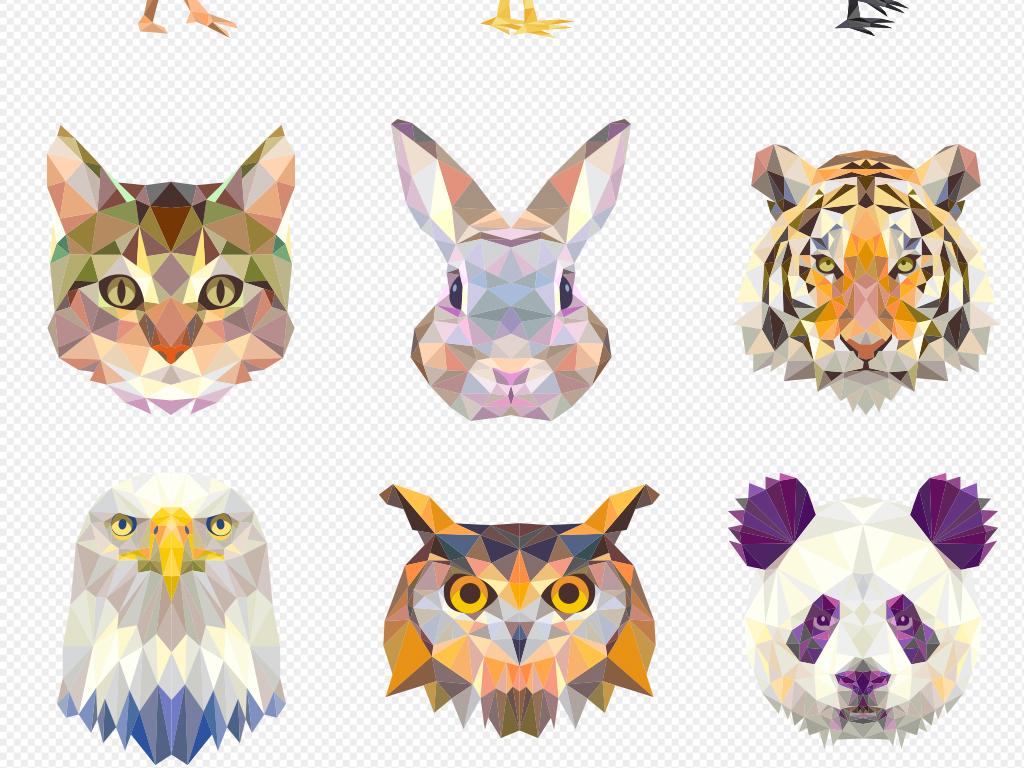 我图网提供精品流行时尚炫彩多边形几何动物高清png素材图片下载,作品模板源文件可以编辑替换,设计作品简介: 时尚炫彩多边形几何动物高清png素材图片 位图, RGB格式高清大图,使用软件为 Photoshop CS(.png) 背景 海报