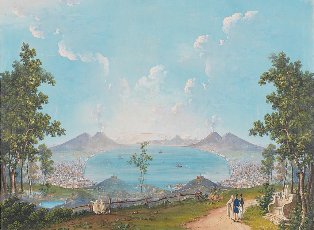 欧式电视背景墙 > 手绘欧式美式中世纪西洋画背景墙装饰画油画  素材