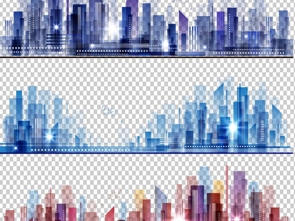 218城市线条画3图片