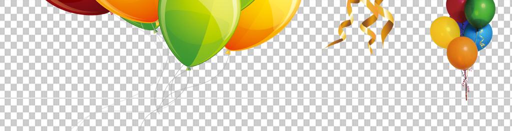高清手绘气球png免抠素材透明元素