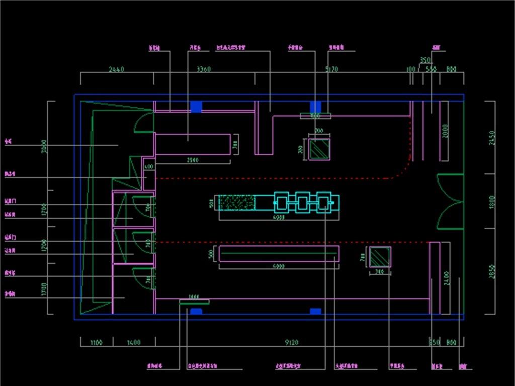 服装店cad设计图平面图下载(图片0.89mb)_cad图纸大全