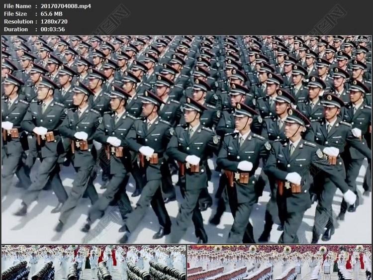 火箭军防空海军空军陆军建党建军国庆阅兵