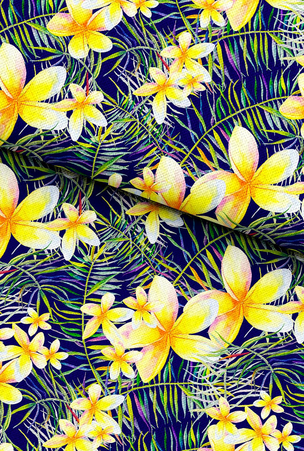手绘油画热带植物叶子图片设计素材_高清其他模板下载