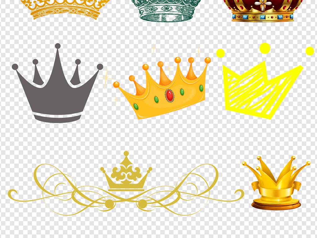 女王皇冠                                          手绘
