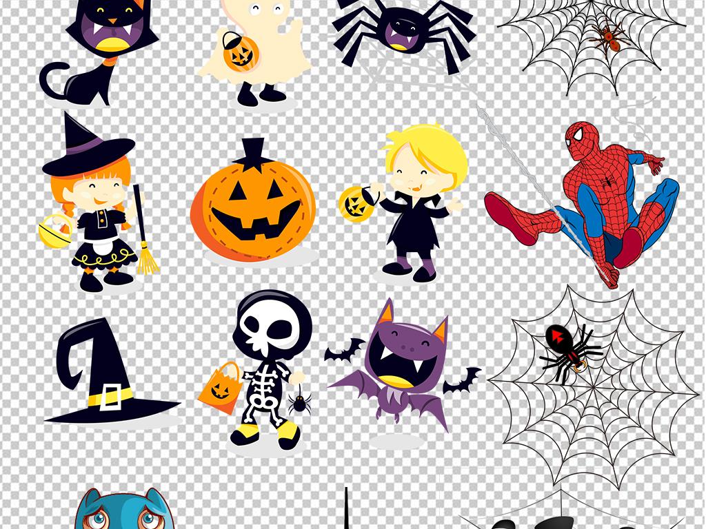 卡通蜘蛛动物图片海报素材