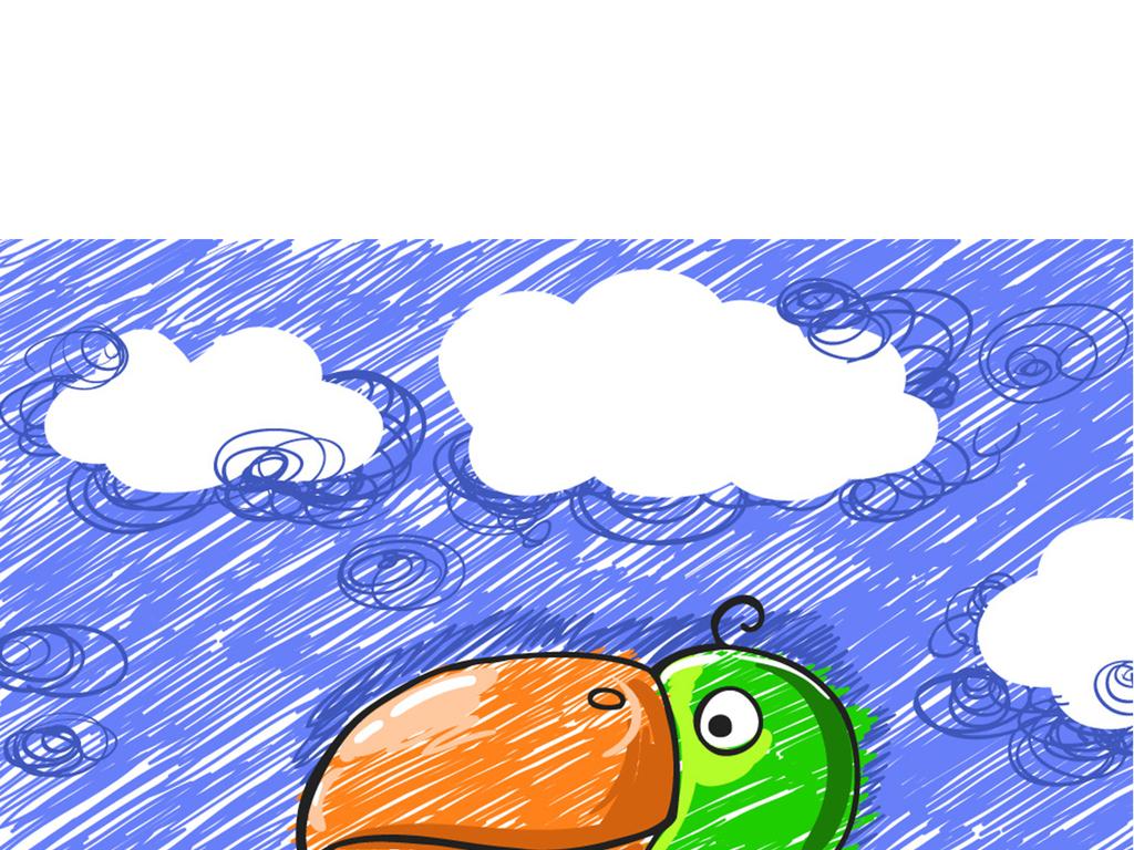 涂鸦卡通图案