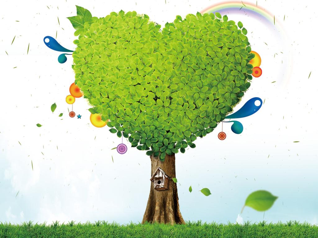 幼儿园形象墙信纸广告童年童话卡通空气纯净纯洁心形素材白云蓝天背景