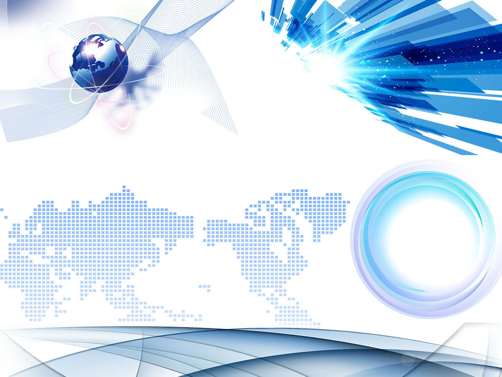 科技背景科技素材电子科技地球ppt