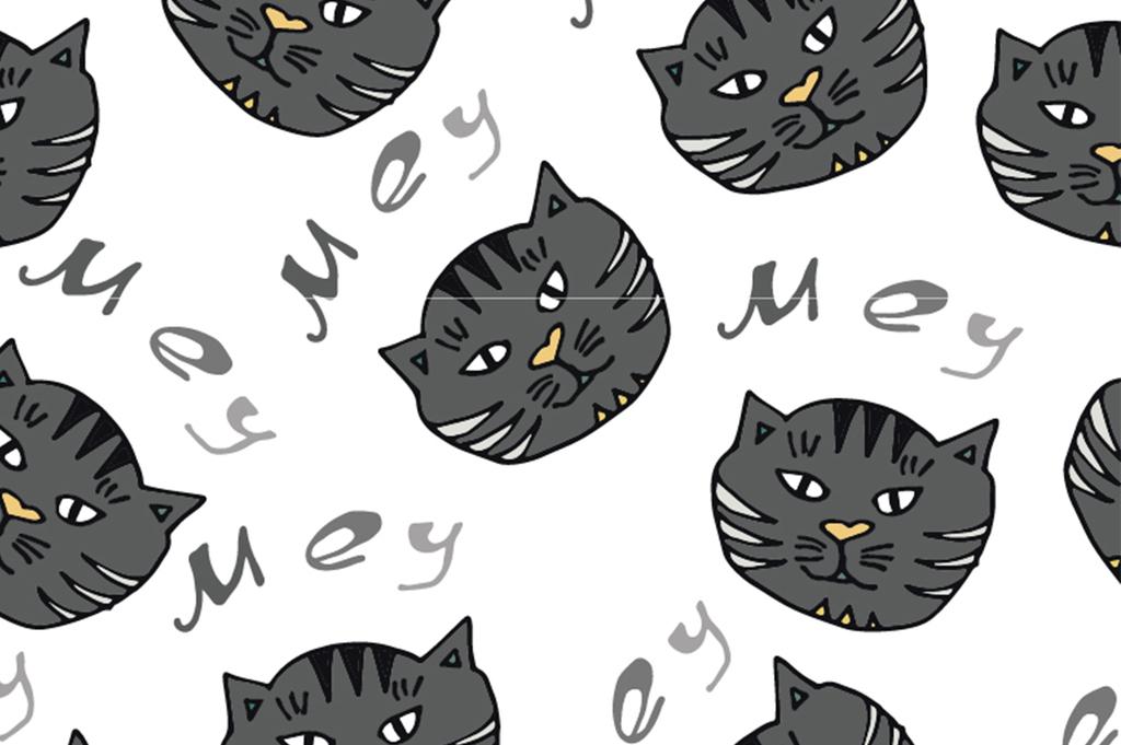 我图网提供精品流行卡通动物猫咪面料图案设计素材下载,作品模板源文件可以编辑替换,设计作品简介: 卡通动物猫咪面料图案设计 矢量图, CMYK格式高清大图,使用软件为 Illustrator CS(.ai) AI CDR矢量图数码印花 艺术效果