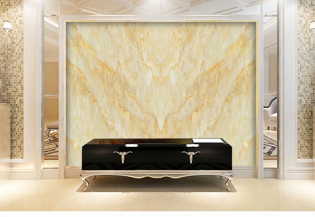 大理石石纹电视背景墙
