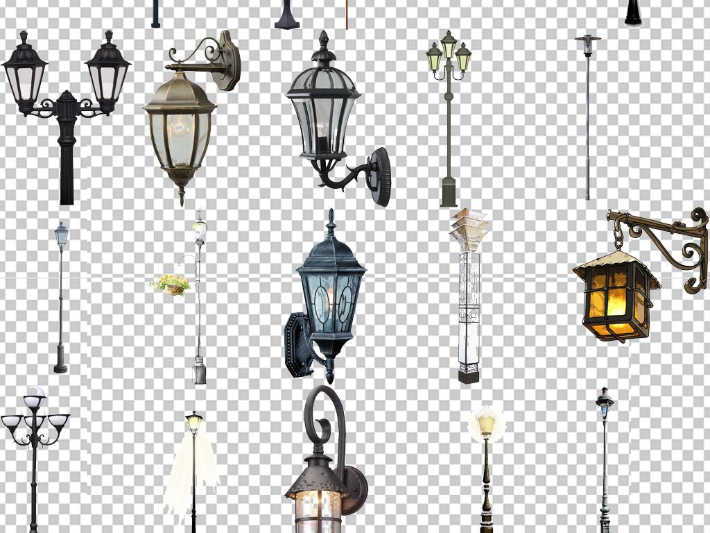 灯杆工装素材设计设计素材路灯元素古典欧式吊灯欧式素材古典素材欧式图片