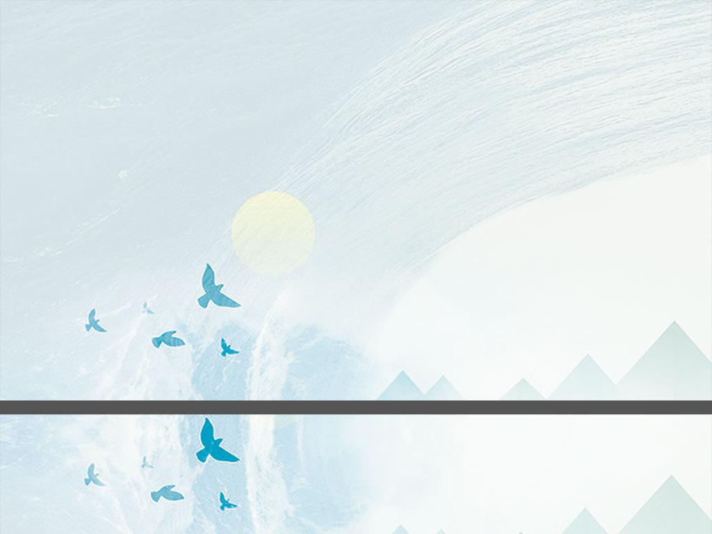 jpg\/帆船卡通PPT背景封面浅蓝色封面