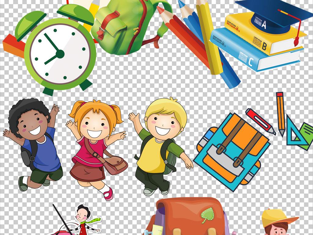 书本设计儿童设计书包设计卡通人物卡通背景卡通动物卡通笑脸卡通小