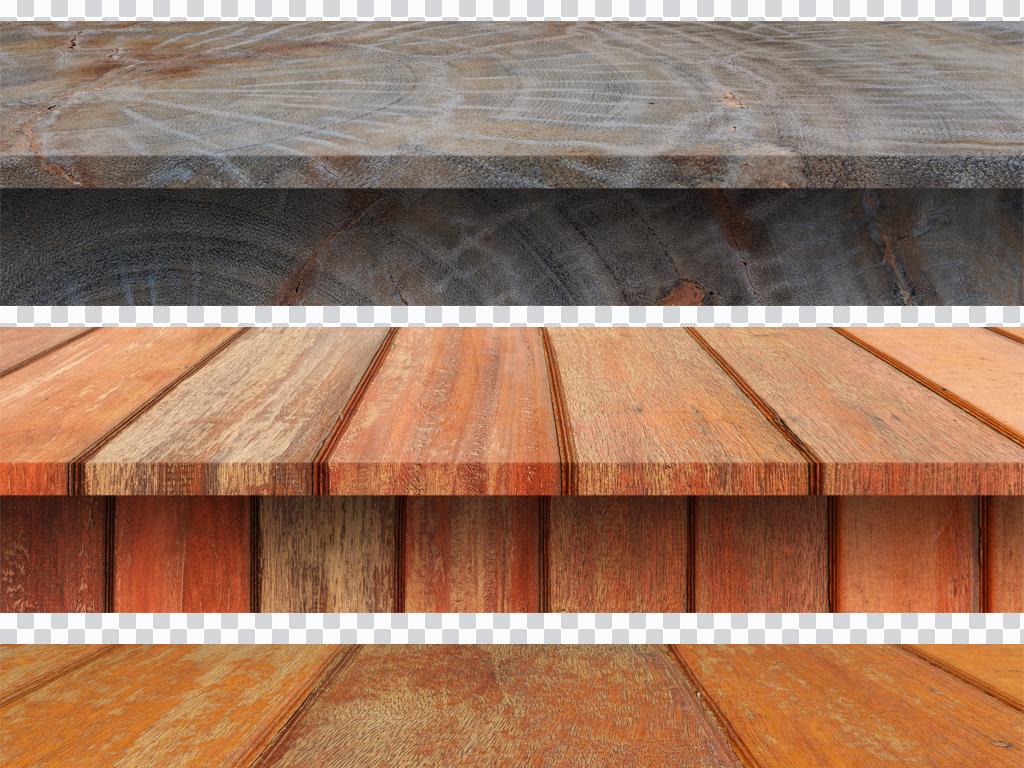 300dpi高清木板桌面png免抠海报设计素材