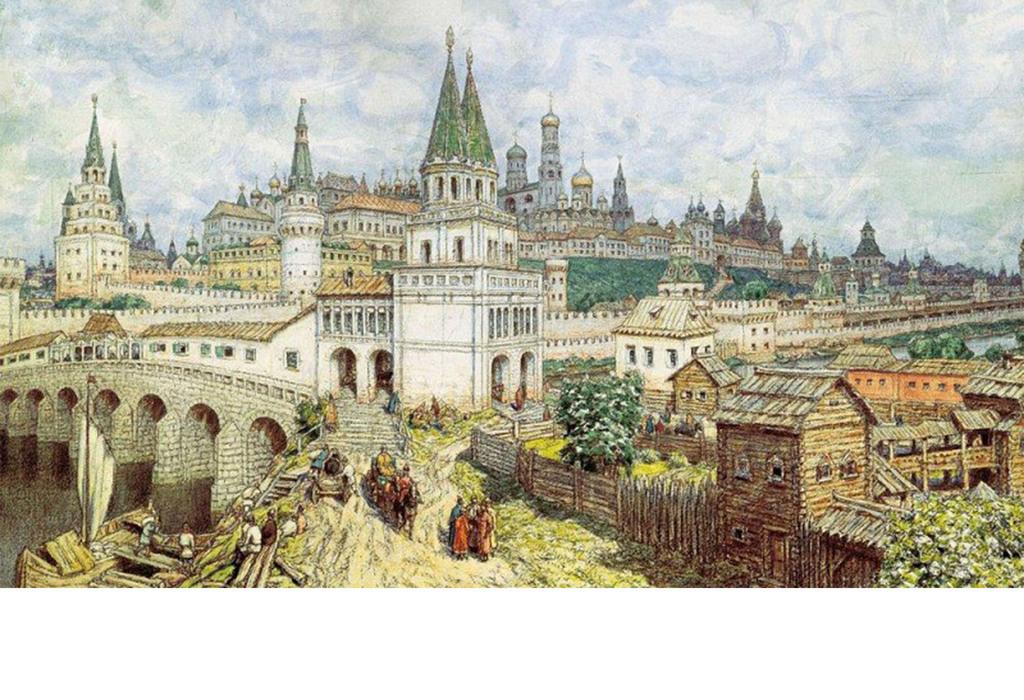 背景墙 电视背景墙 电视背景墙 > 东欧城堡复古手绘  素材图片参数