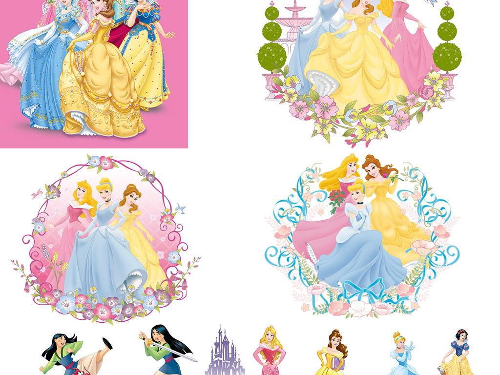 卡通公主迪士尼公主漂亮漂亮背景漂亮女人图片