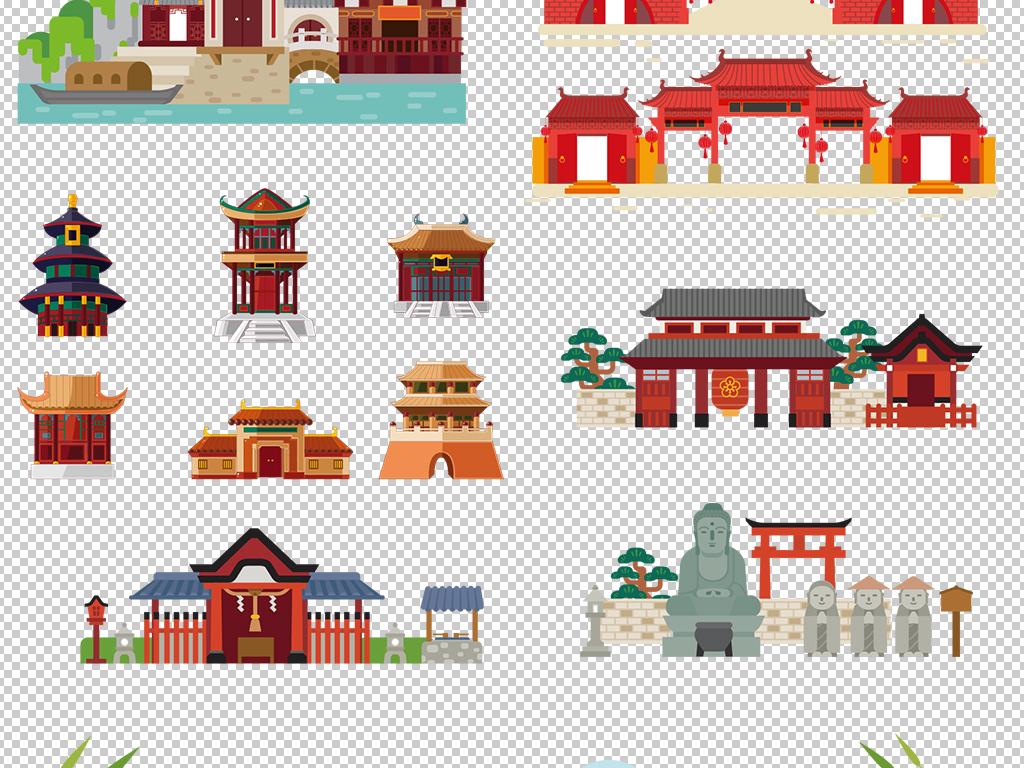 我图网提供精品流行 中国风卡通平面古塔皇宫建筑PNG素材 下载,作品模板源文件可以编辑替换,设计作品简介: 中国风卡通平面古塔皇宫建筑PNG素材 位图, RGB格式高清大图, 使用软件为 Photoshop CS6(.png)