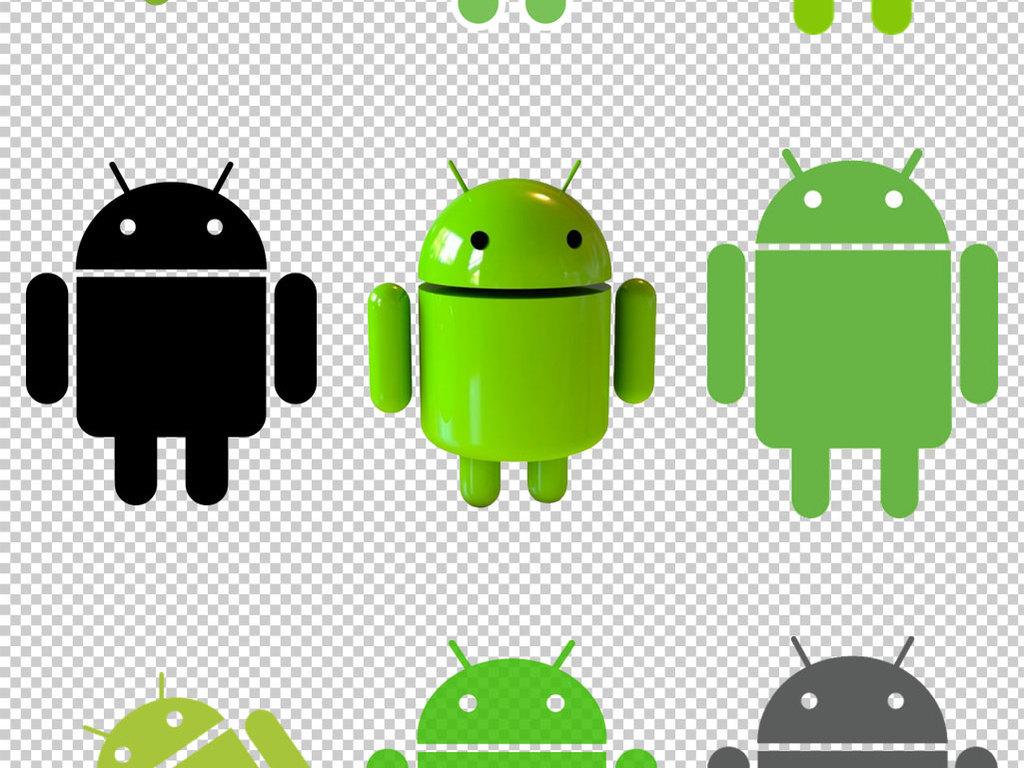 安卓logo标志免抠png透明图层素材图片