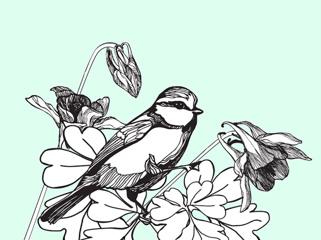 工笔画植物花卉