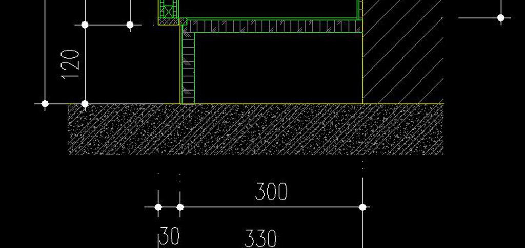 cad图库 建筑cad图纸 节点剖面图cad > cad玻璃展柜节点大样图柜子