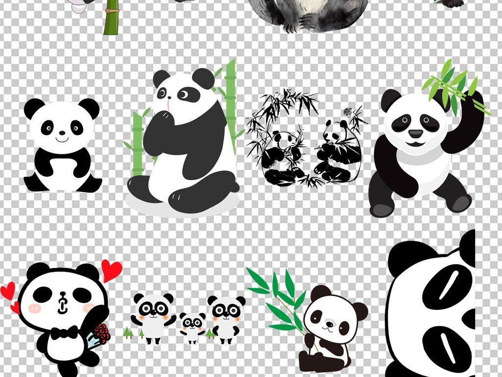 萌大熊猫可爱熊猫