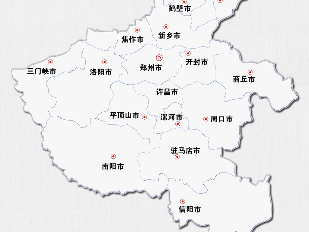 河南地图中国地图 16942859 中国地图