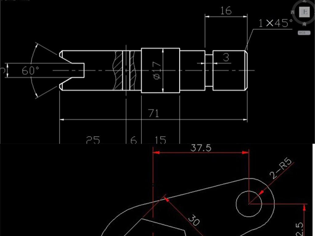 500张cad机械装配图机械零件图纸绘图
