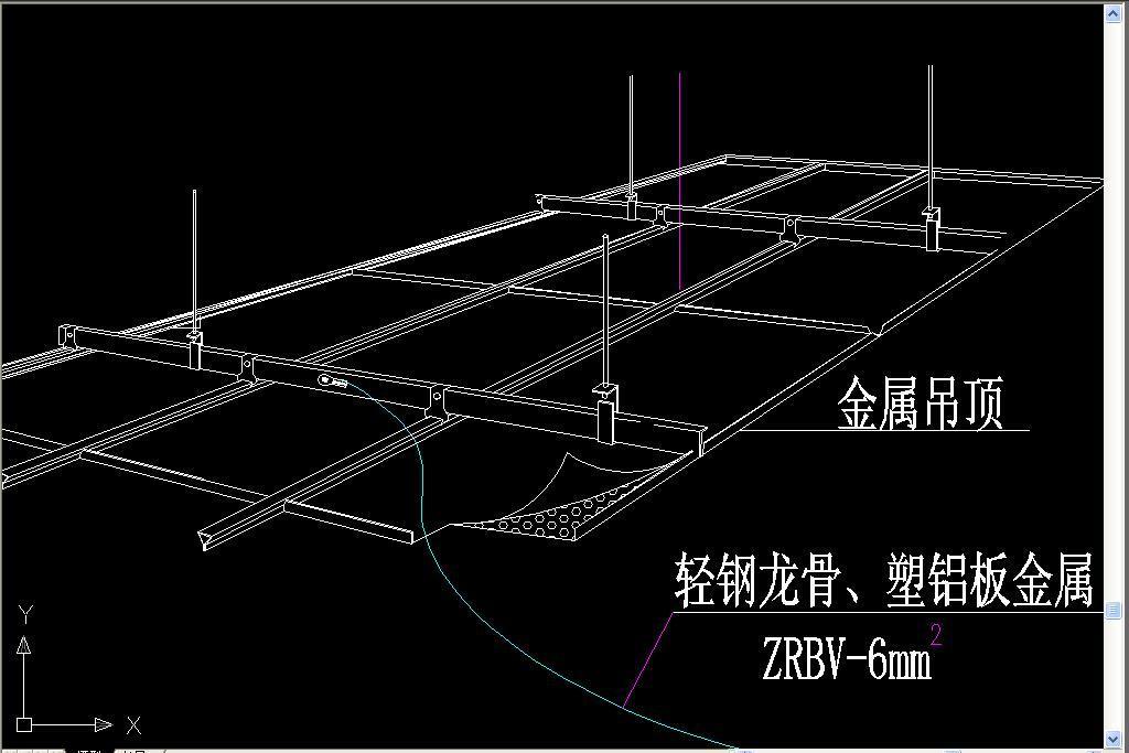 cad图库 室内设计cad图库 cad图纸 > 防静电构成图