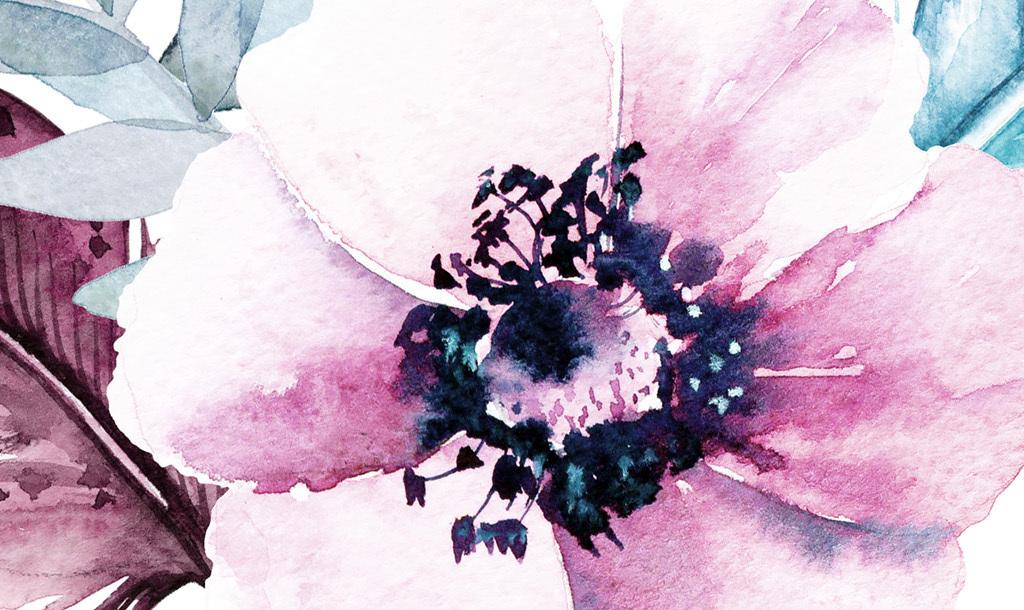 装饰画 北欧装饰画 植物花卉装饰画 > ins简约小清新北欧风格花朵羽毛