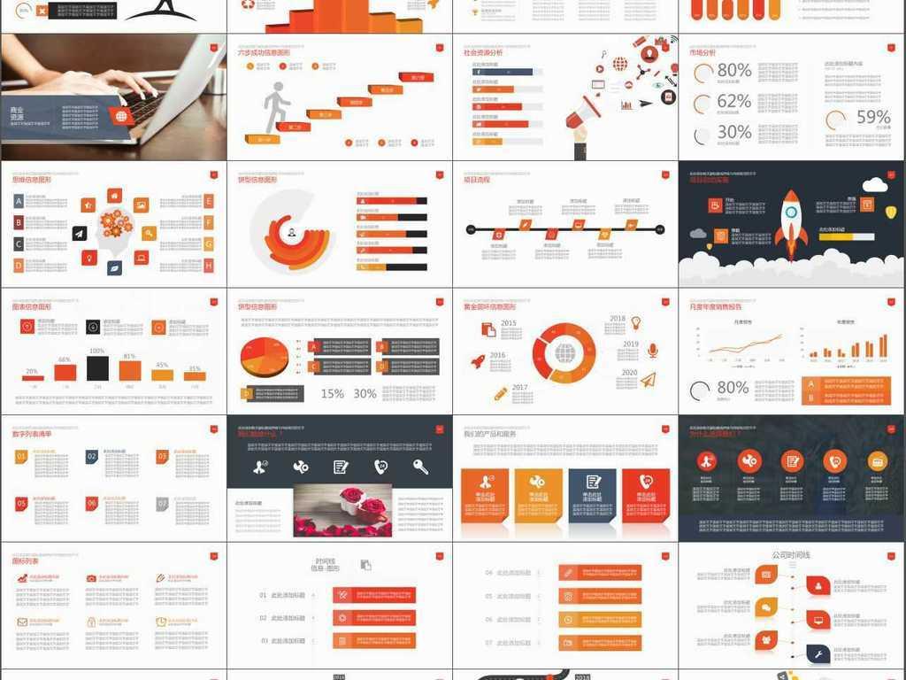 商业计划书产品销售管理策略ppt模板