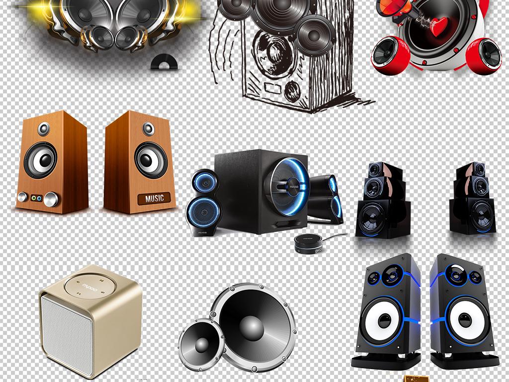 喇叭音响设备png海报素材图片下载psd素材 其他