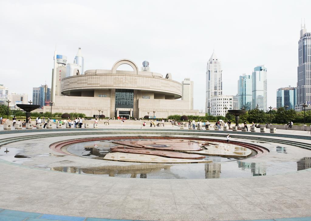 现代城市建筑唯美都市高楼街景城区图片素材 模板下载 4.07MB 其他大图片