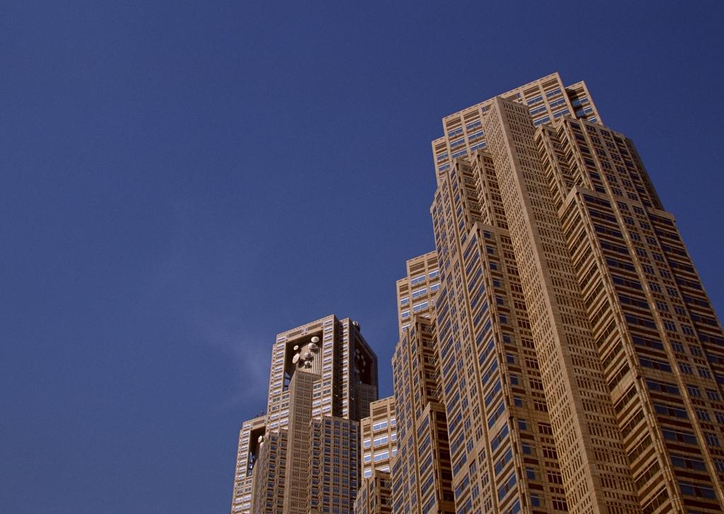 现代城市建筑唯美都市高楼街景城区图片下载素材图片