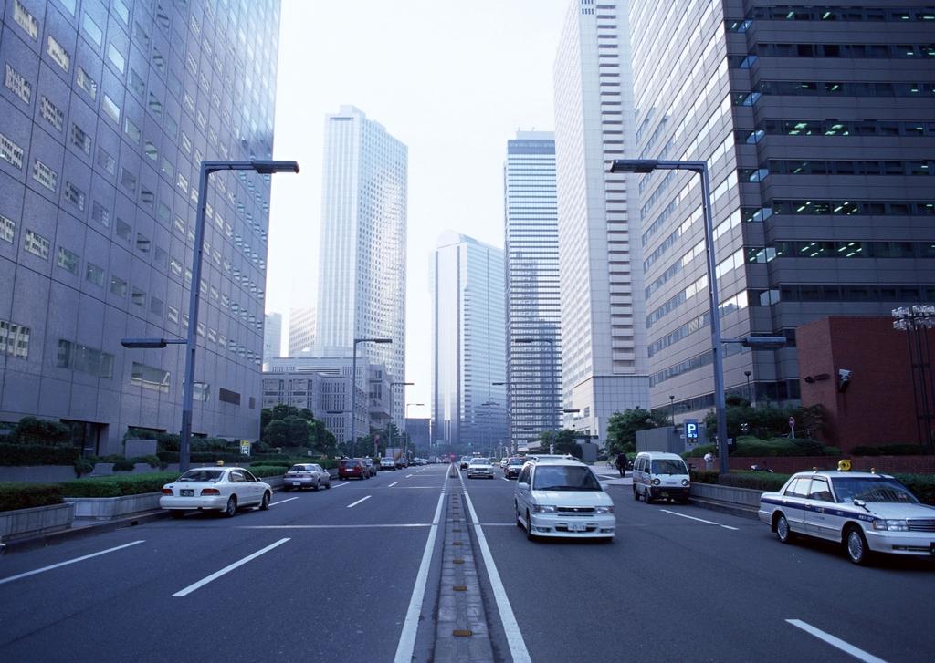 现代城市建筑唯美都市高楼街景城区图片素材 模板下载 2.73MB 其他大图片