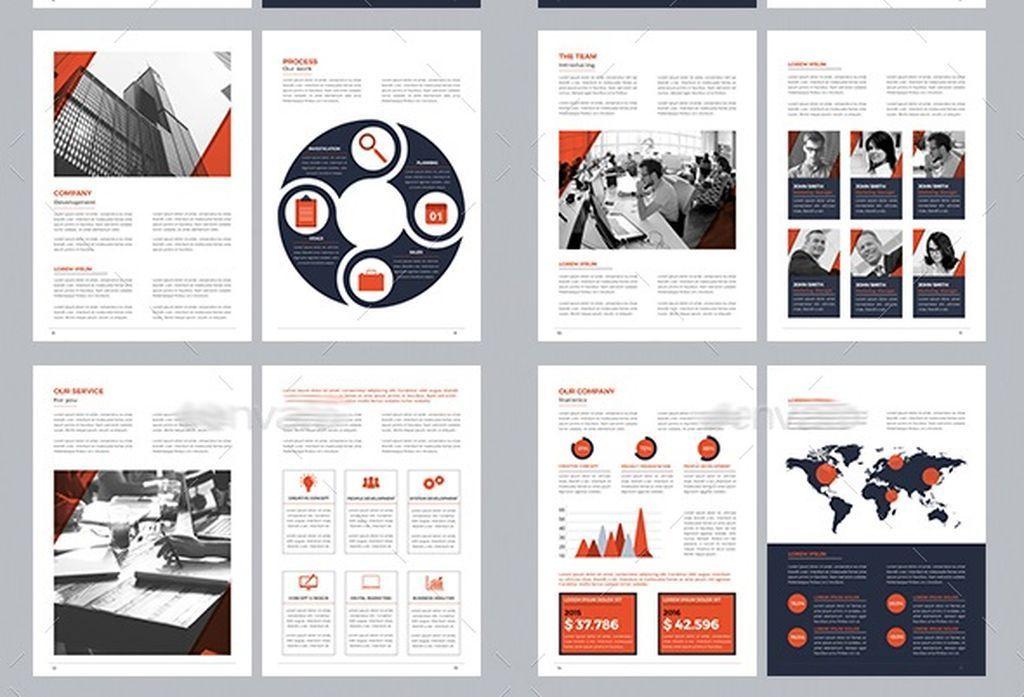 企业产品宣传册画册indesign模板图片