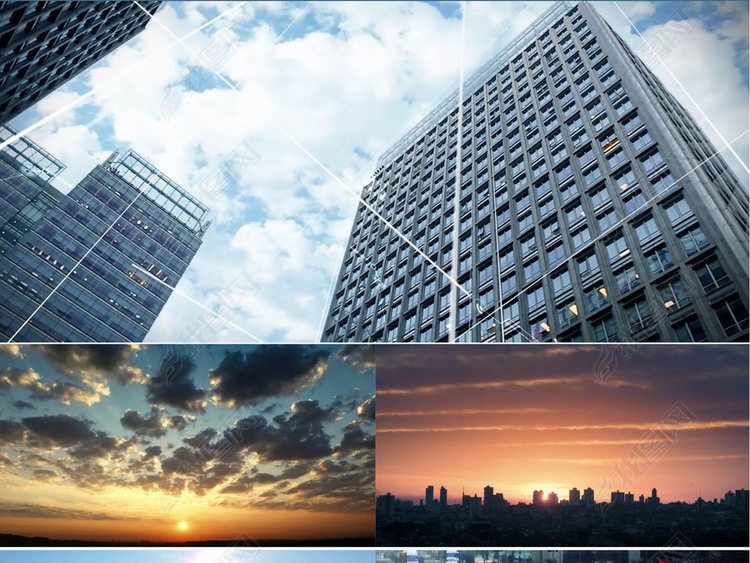 智慧城市人流人文延时科技信息视频素材