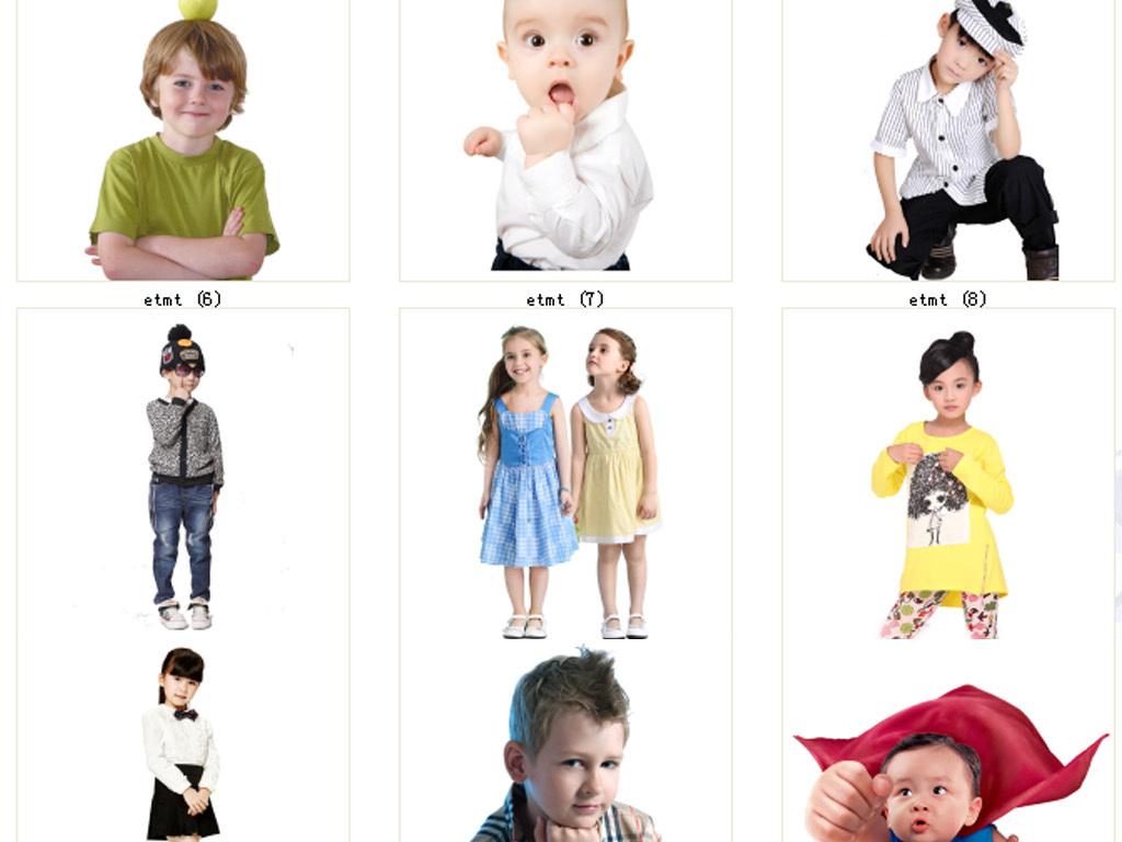 儿童模特潮流时装模特儿童服装