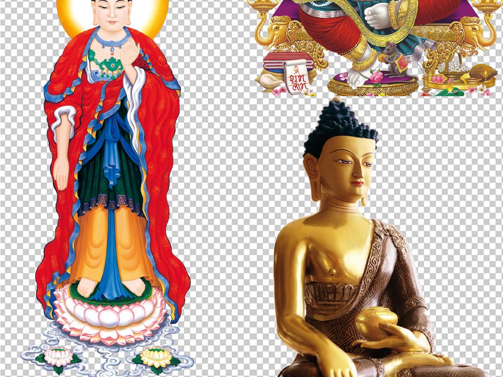 泰国佛像手绘线描