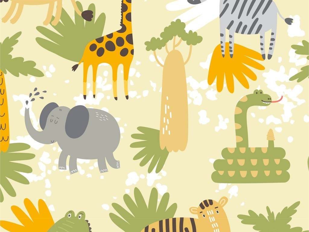动物植物花卉花型图片下载ai素材-动物图案-我图网图片