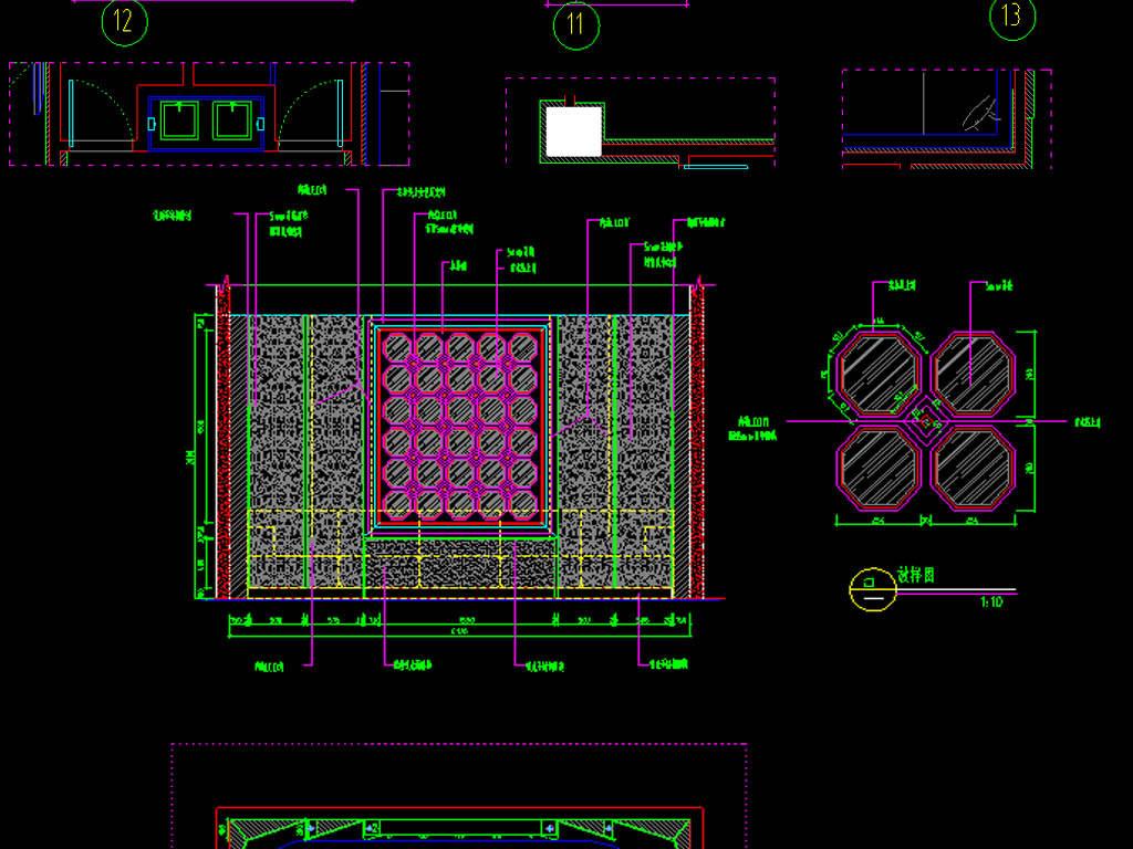 施工图ktv设计图ktv方案图酒店图纸酒店设计图效果图建筑效果图设计图图片