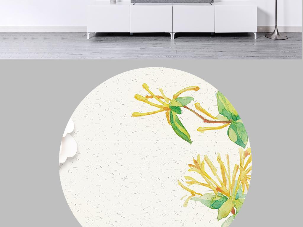 背景墙|装饰画 无框画 中国风无框画 > 新中式手绘花鸟山水风景床头画