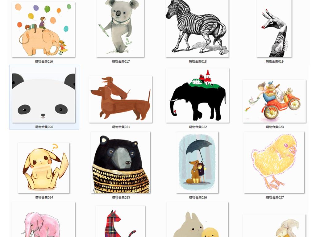 卡通人物大全动物手绘动物鸟类动物动物手绘手绘鸟类水墨鸟画鸟水墨