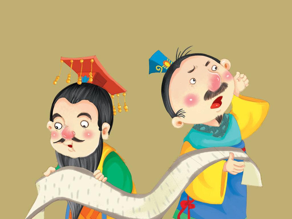 成语故事漫画插图韩国插图卡通漫画安全漫画插图漫画手绘