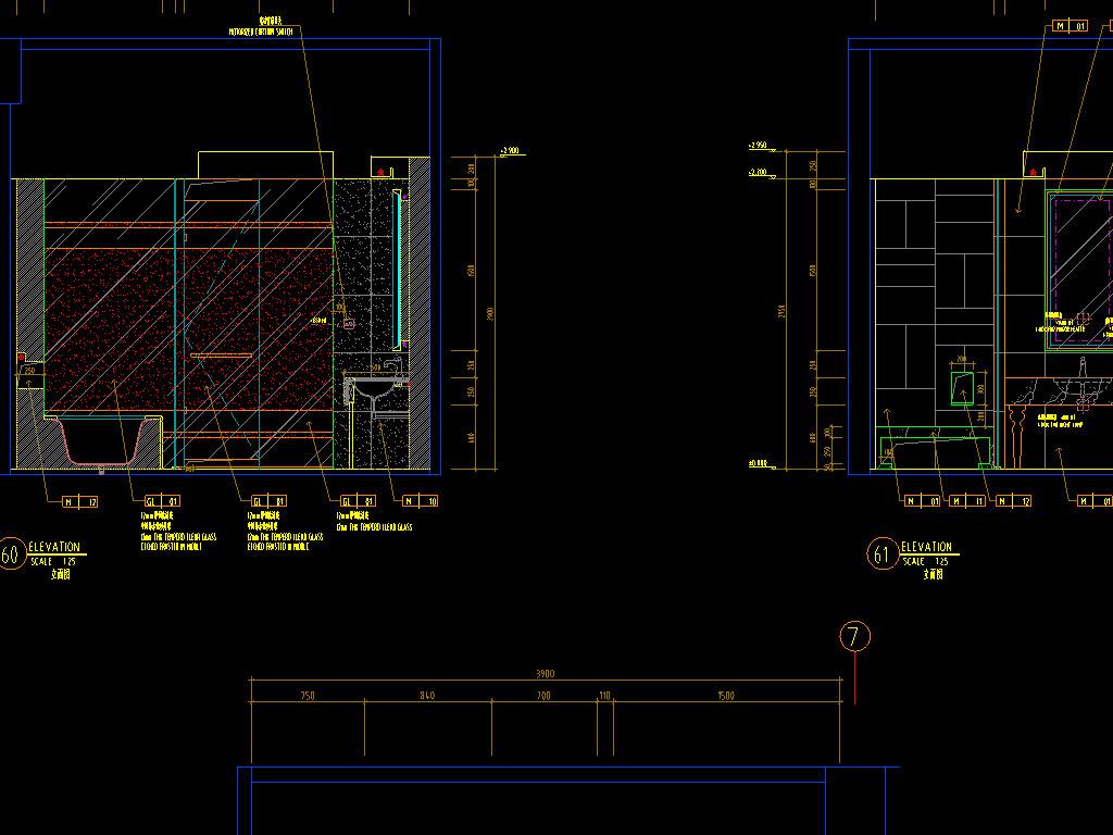 整套酒店CAD设计布置图